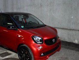 SMART FORFOUR ROSSO/NERA SUPERPASSION