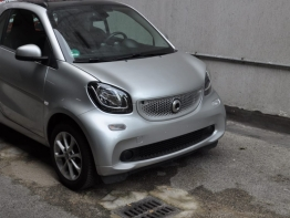 SMART FORTWO PASSION SILVER