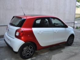 SMART FORFOUR BIANCA/ROSSA